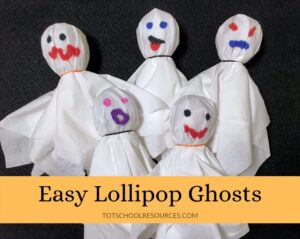 Lollipop ghosts