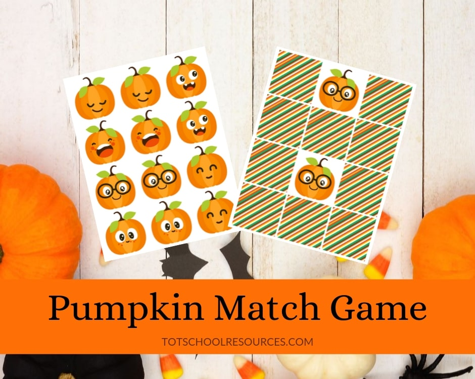 Pumpkin Matching game