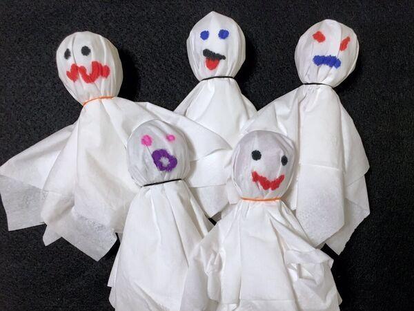 cute ghost tootsie pops