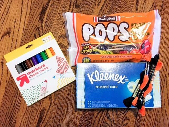 lollipop ghost supplies