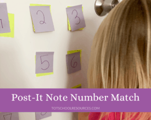 Number match game