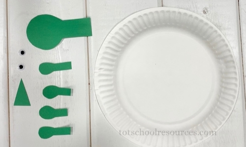 Turtle paper plate