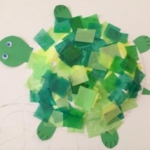 turtle toddler craft