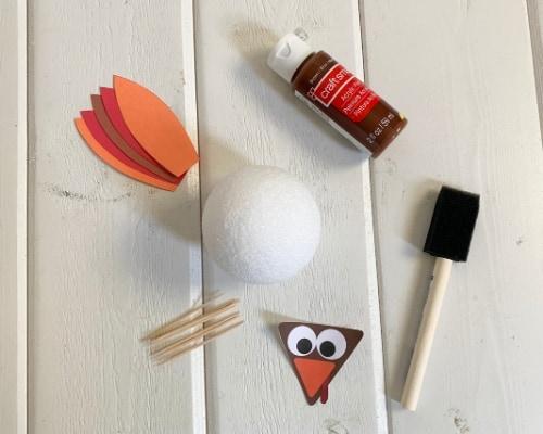 3d turkey craft supplies