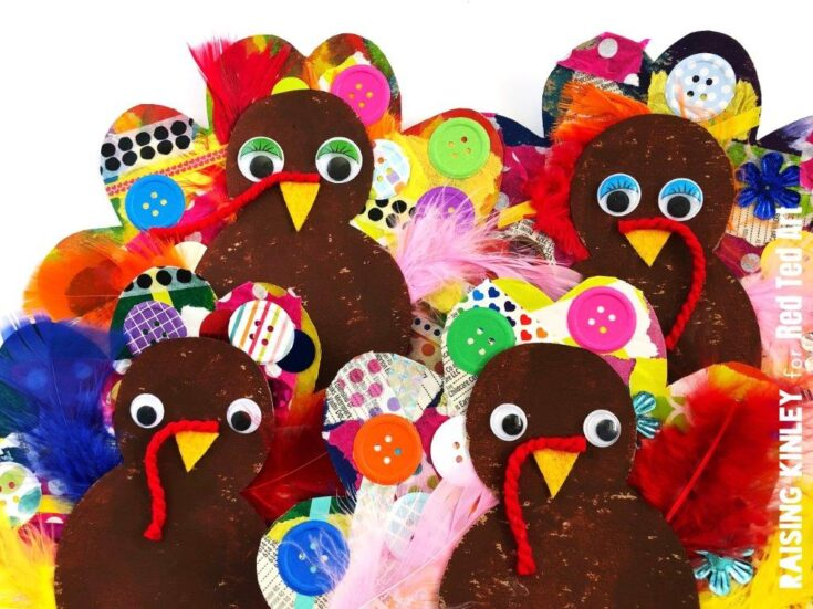 Cardboard Turkey Craft