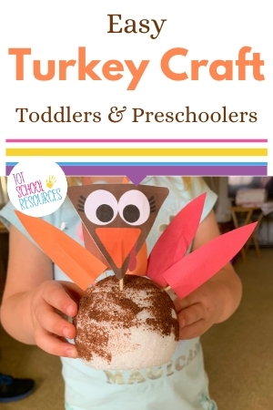 turkey craft for preschool