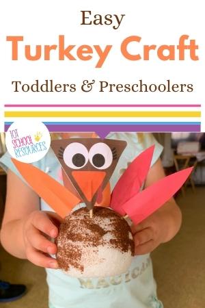 turkey craft for preschool