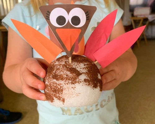 turkey craft for toddlers