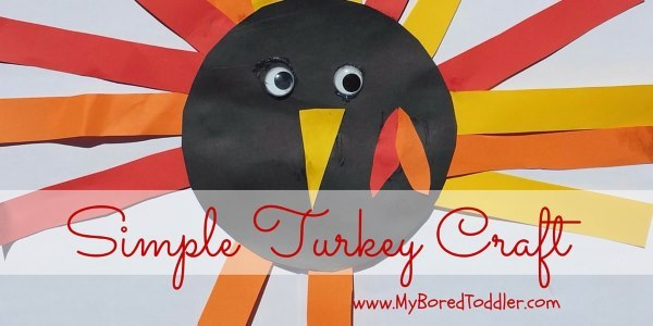 Simple Turkey Craft