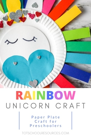unicorn preschool craft