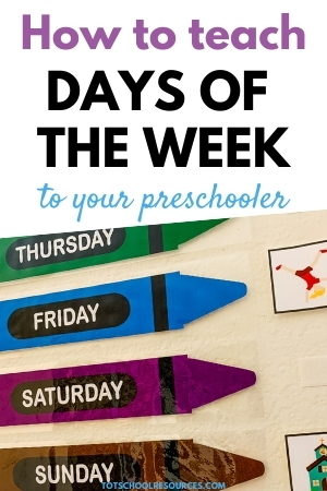 teach days of the week