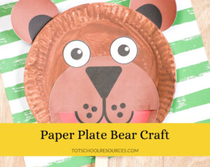 easy bear craft