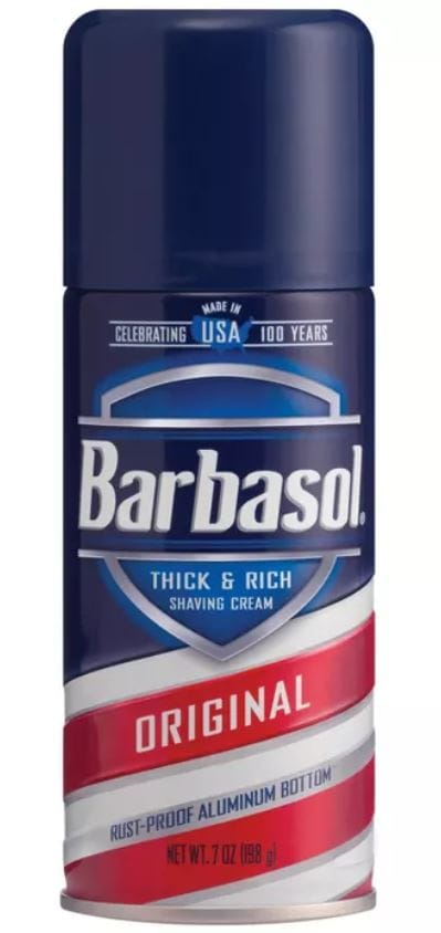 Barbasol Original Thick & Rich Shaving Cream - 7oz