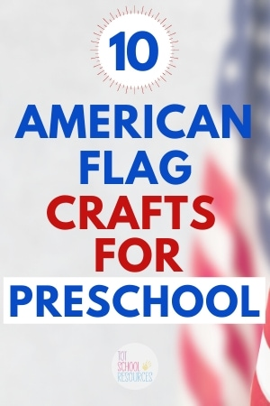 american flag crafts for preschool