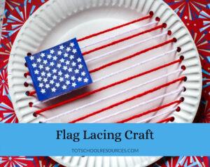 Flag lacing craft