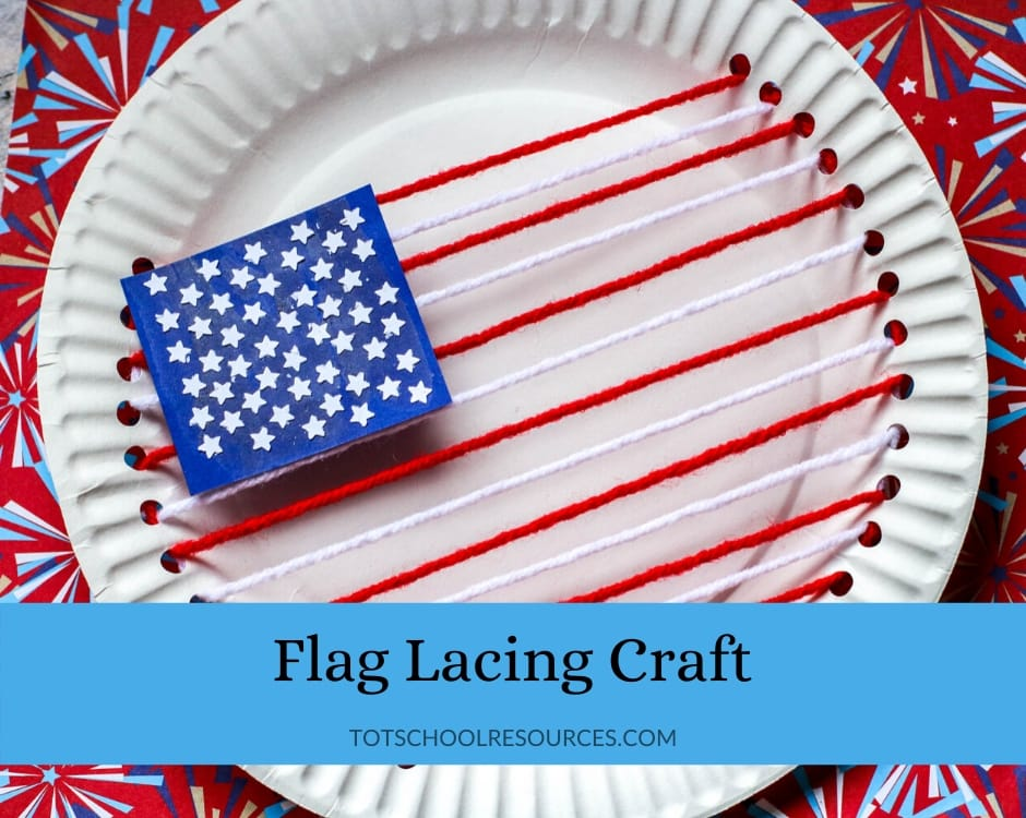 Flag lacing craft
