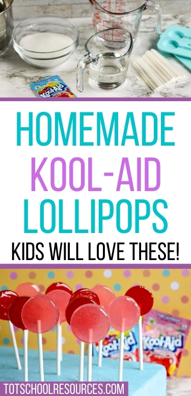 homemade kool-aid lollipops