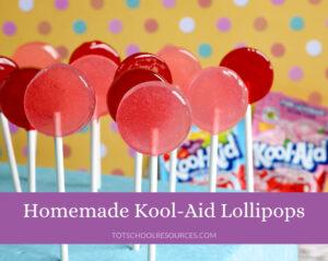 kool aid lollipops