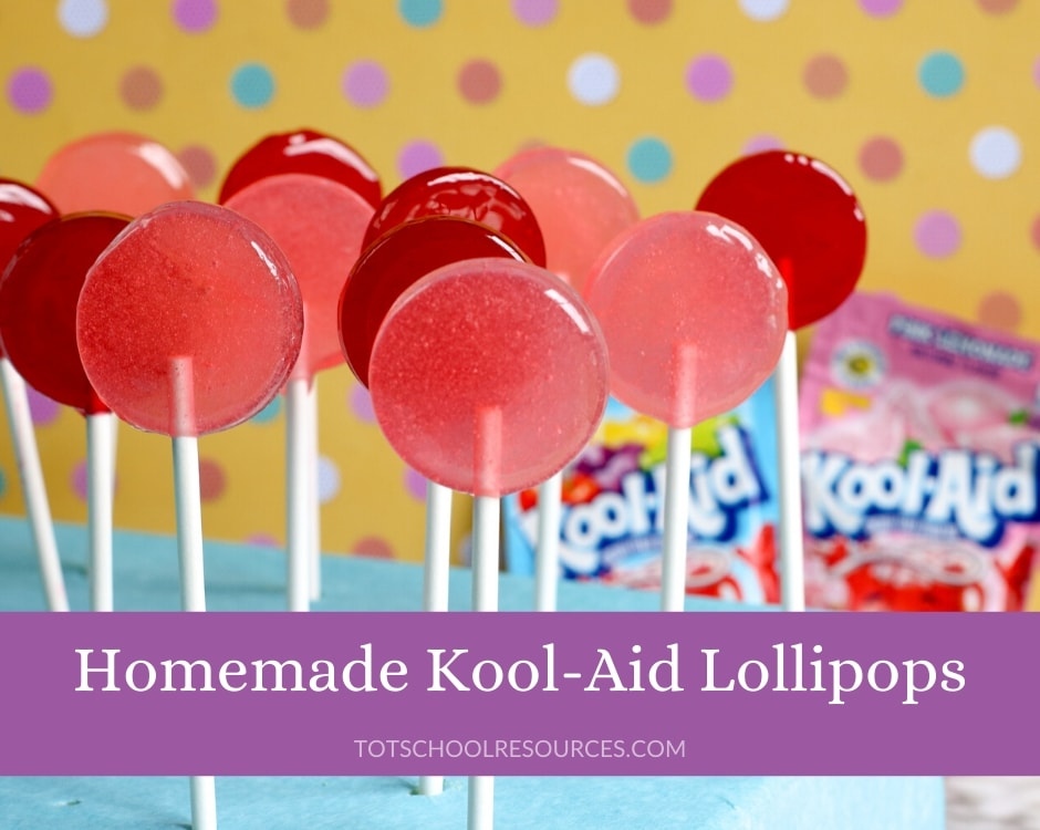 kool aid lollipops