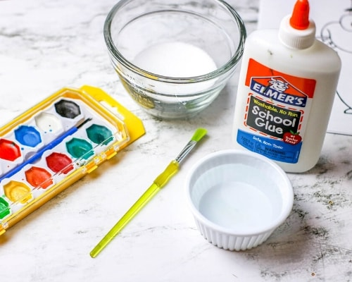salt painting supplies