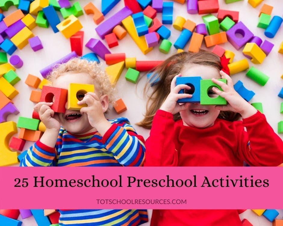 homeschool preschool activities