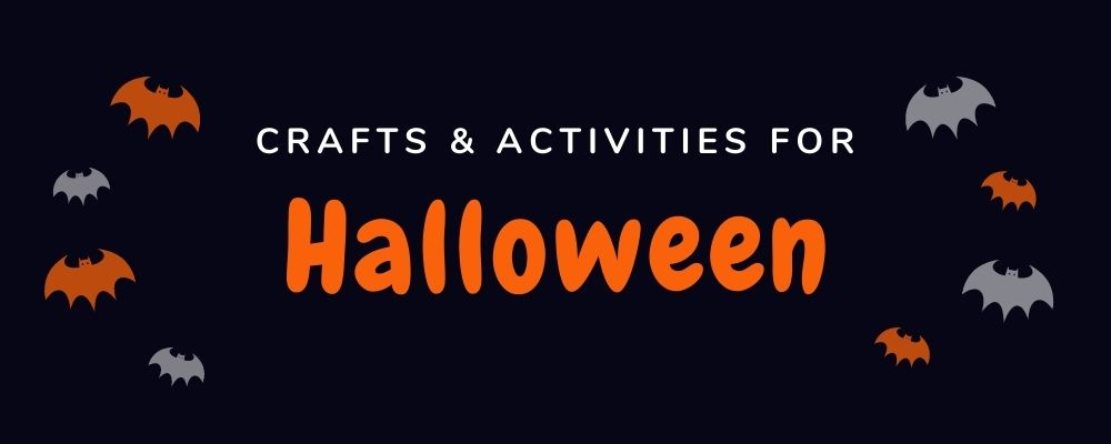 crafts & activities for Halloween
