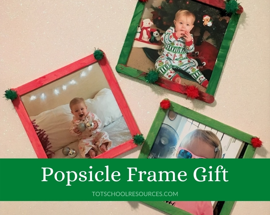 popsicle stick frame craft