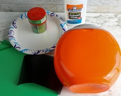 tide pod container pumpkin supplies