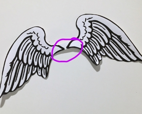 angel wing template