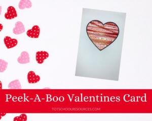 peek-a-boo heart card