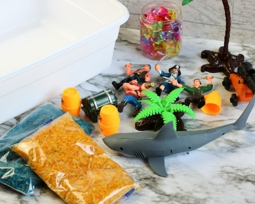 pirate day activities supplies