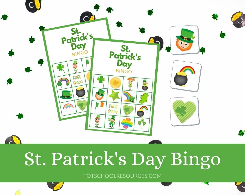 St Patricks Day Bingo title image