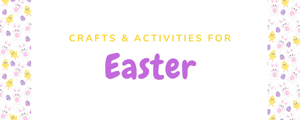 Easter activities for kids page title