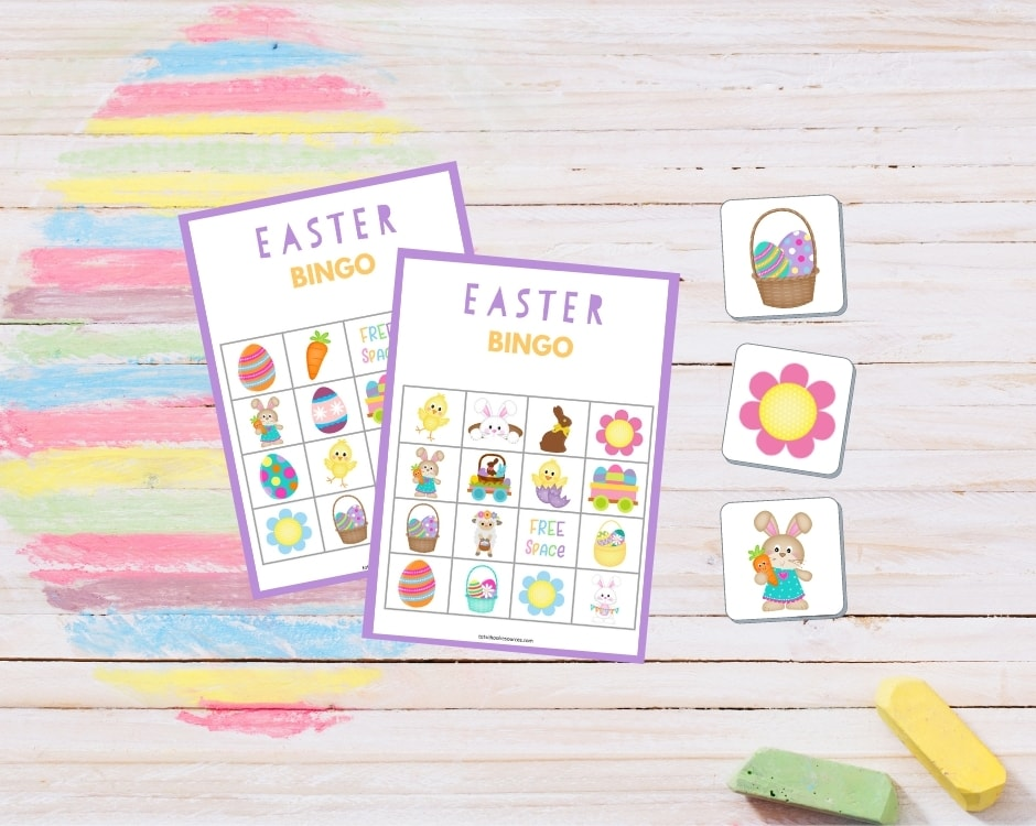 Printable Easter Bingo Cards