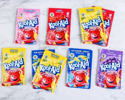 koolaid packet color combos