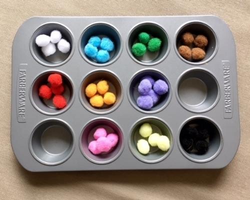 pom pom color matching