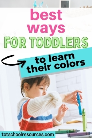 toddler learning colors