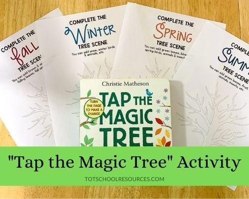 tap the magic tree activity