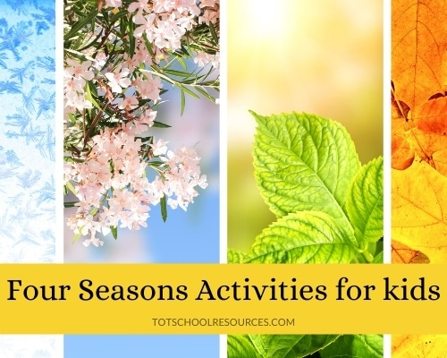 four seasons activities for kids
